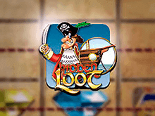 Игровой аппарат Скрытая Добыча на пиратскую тематику с крупными выигрышами